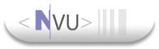 Nvu, éditeur HTML
